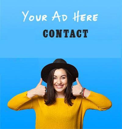 Advertising Vertical Banner